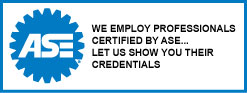 At Edina Tire & Auto We Employ Technicians Certified by ASE...  Let us Show You Their Credentials.